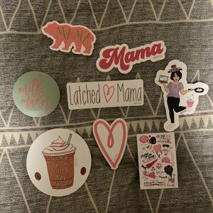 Latched Mama stickers
